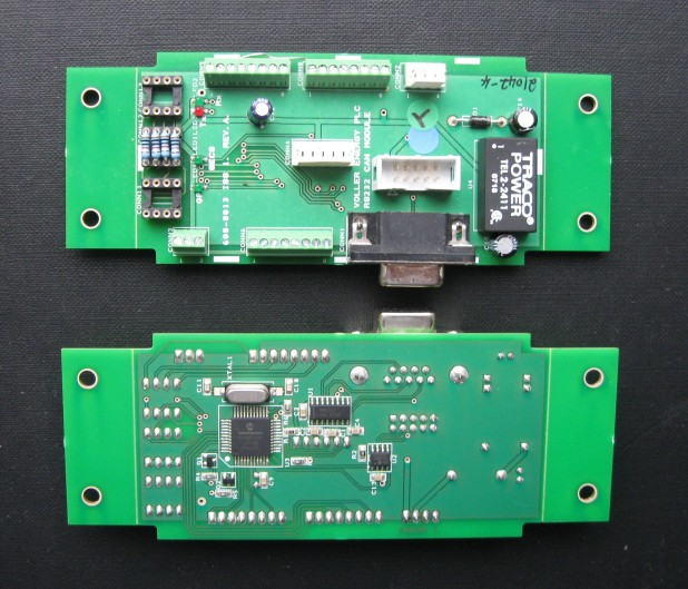 A picture of the General Purpose Controller PCB