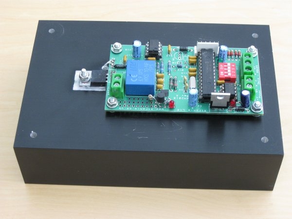 A picture of the XM2010 Electronic Load PCB