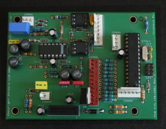 A picture of the VLF Receiver PCB